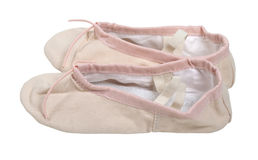 Pink Ballet Slippers Royalty Free Stock Images