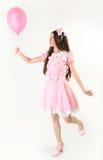 Pink balloon Stock Image