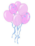Pink Balloons Royalty Free Stock Photo
