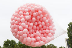 Pink balloons Breast cancer Royalty Free Stock Photography