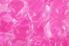 Pink balls Stock Image