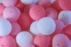 Pink balls royalty free stock photography