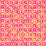 Pink Balls Teen Pattern. Royalty Free Stock Photography