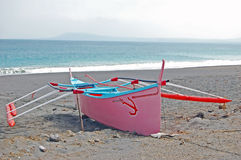 Pink bangka Stock Photography