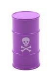 Pink barrel Royalty Free Stock Photo