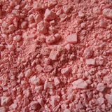 Pink bath salts. Rose fragrance pink bath salts Royalty Free Stock Photography