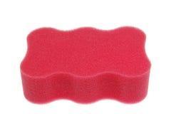 Pink bath sponge Stock Images