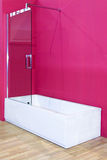 Pink bathroom Stock Photo