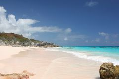 Pink Beach Royalty Free Stock Images