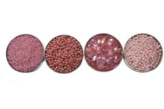 Pink bead Royalty Free Stock Photo
