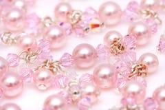 Pink Beads Royalty Free Stock Photos