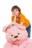 A pink bear Royalty Free Stock Photo
