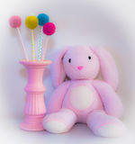 Pink bear Royalty Free Stock Images