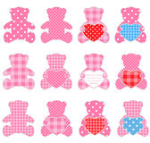 Pink bears Royalty Free Stock Photography