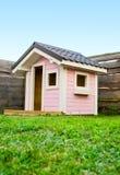 Pink beautiful House playground Royalty Free Stock Photos