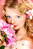 Pink beauty stock image