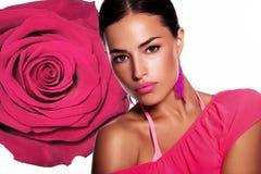 Pink beauty Stock Photos