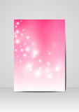 Pink beauty design Stock Images