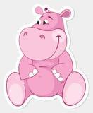 Pink behemoth Royalty Free Stock Photo