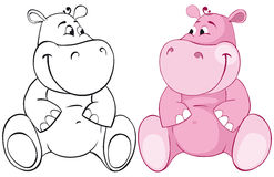 Pink behemoth Stock Image