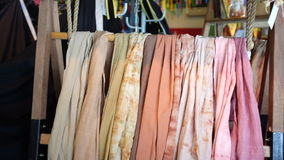 Pink Beige and Brown Scarf Stock Images