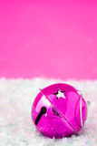 Pink bell sparkle Stock Photos