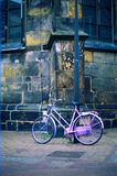 Pink bicycle Stock Photography