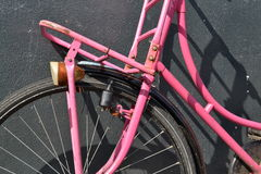 a pink bike Stock Image