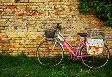 Pink Bike Stock Images