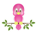 Pink bird Royalty Free Stock Photos