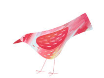 Pink Bird Royalty Free Stock Images