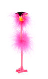 Pink bird success Royalty Free Stock Photo