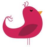 Pink Birdie Stock Images