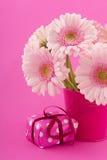 Pink birthday Stock Photo