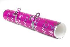 Pink Birthday Cracker Royalty Free Stock Photo