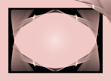 Pink and Black Background Royalty Free Stock Photo