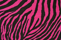 Pink and black tiger pattern. Royalty Free Stock Photos