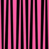 Pink and black vertical striped background. Cute pattern. Vintage retro stripes design. Creative vertical banner. Vector illustration for design, card, poster Stock Photos
