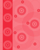 Pink blank with disks Royalty Free Stock Photos