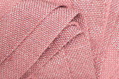 Pink blanket Royalty Free Stock Image