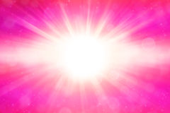 Pink blast Royalty Free Stock Image