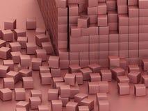 Pink blocks Stock Photos