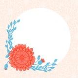 Pink blommor Arkivbild