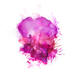 Pink blots Royalty Free Stock Photo