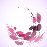 Pink blots background Royalty Free Stock Photo
