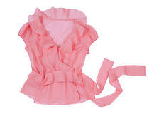 Pink blouse Stock Photos