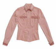 Pink blouse Royalty Free Stock Images