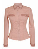 Pink blouse Stock Images