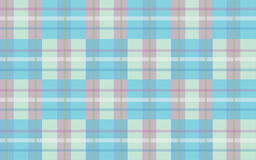 Pink & Blue. Plaid pattern for the mother and child Royalty Free Stock Images