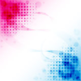 Pink Blue Abstract Stock Photo
